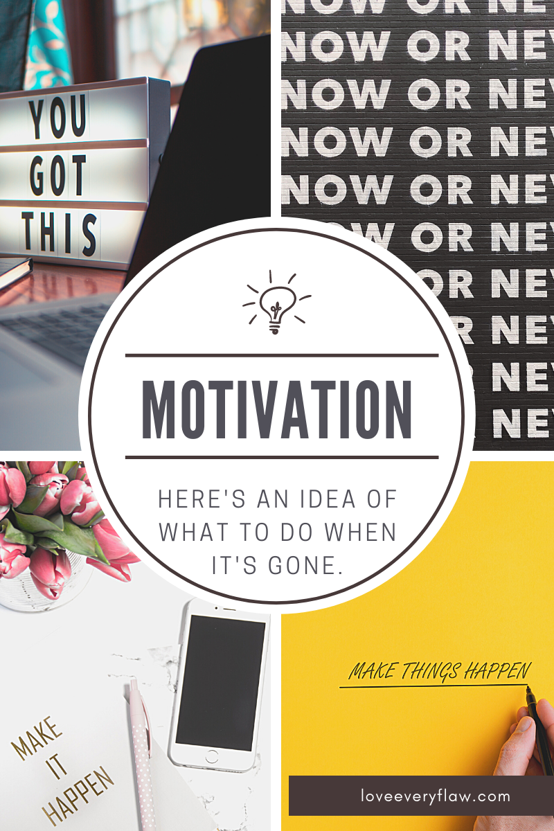 What to Do When You've Lost Motivation